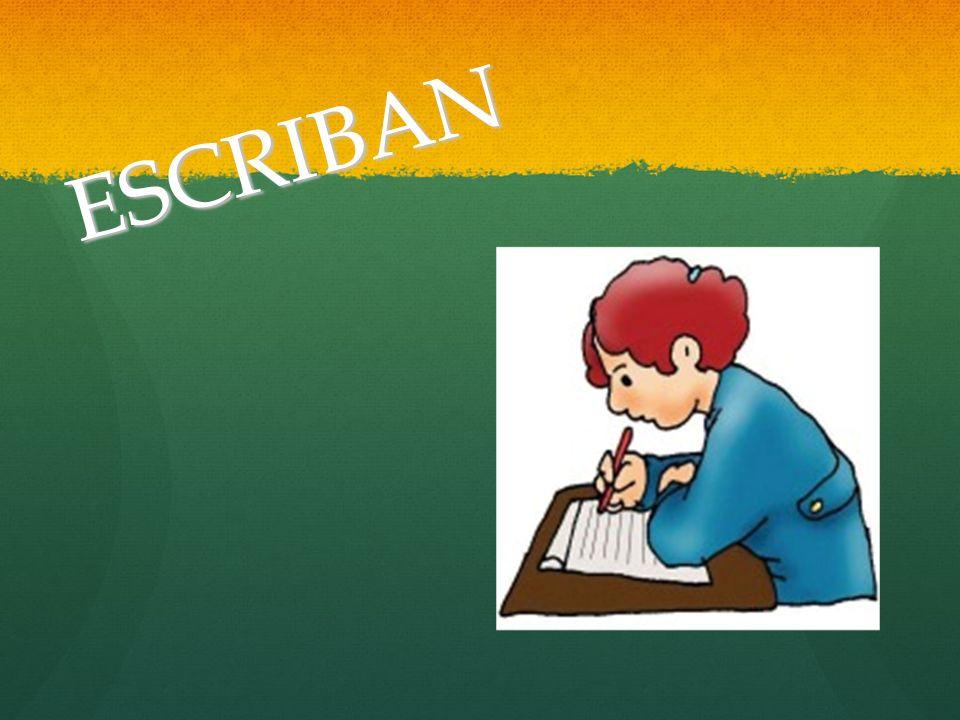 ESCRIBAN