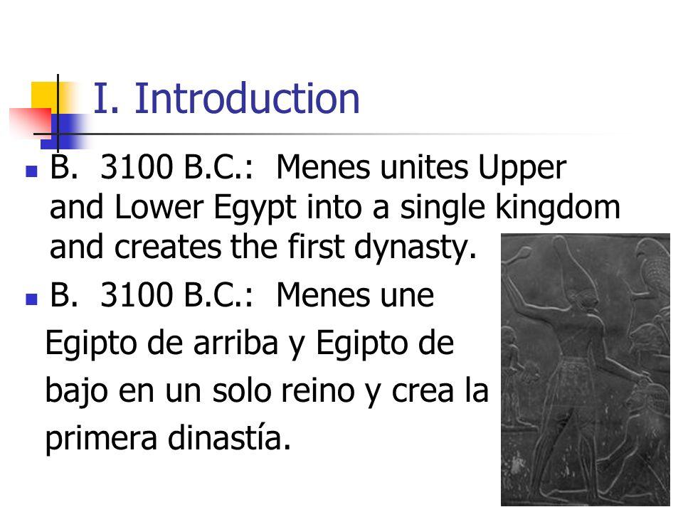 II.The Old Kingdom A.