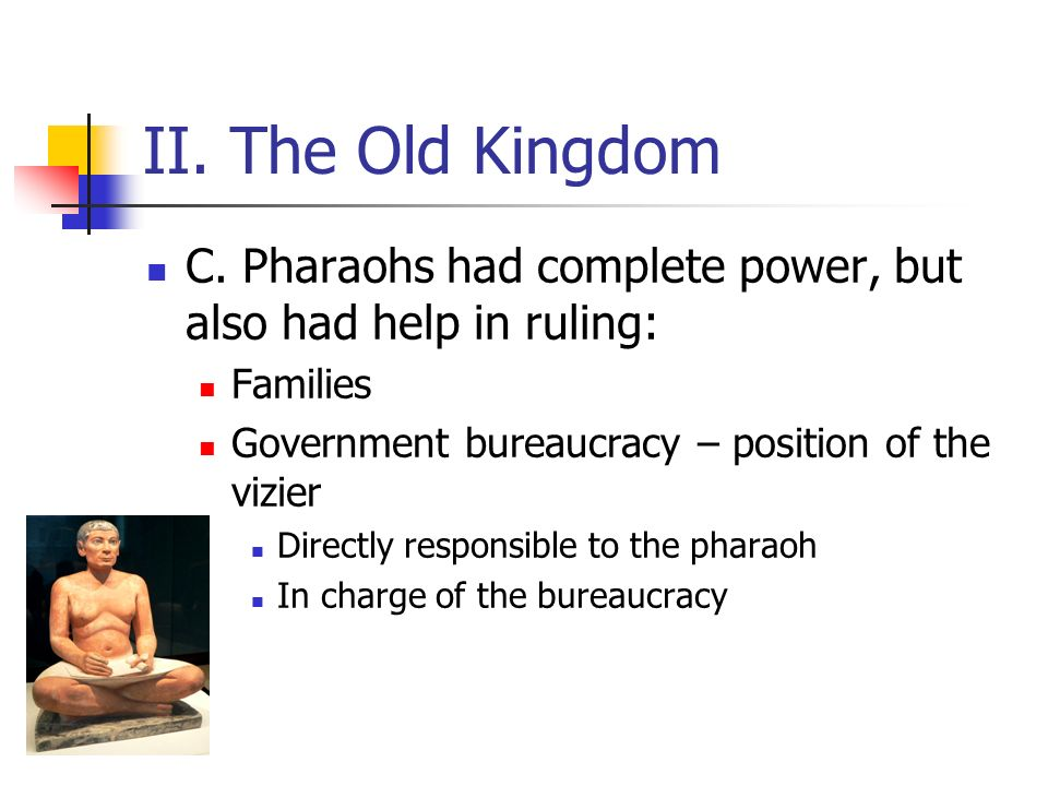 III.The Middle Kingdom A. A period of stability from 2055 B.C.