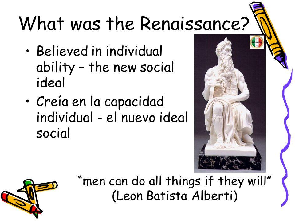 What was the Renaissance.