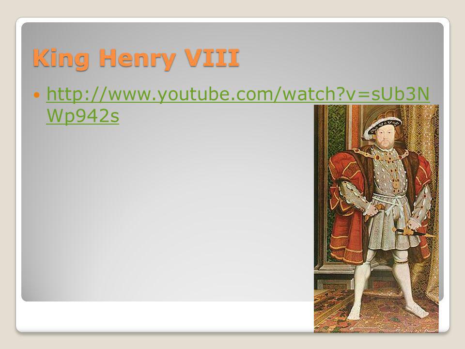 King Henry VIII His divorce from Catherine of Aragon caused a break with the Roman Catholic Church Mary, Queen of Scots Su divorcio de Catalina de Aragón provocó una ruptura con la Iglesia Católica Romana Mary, Queen of Scots