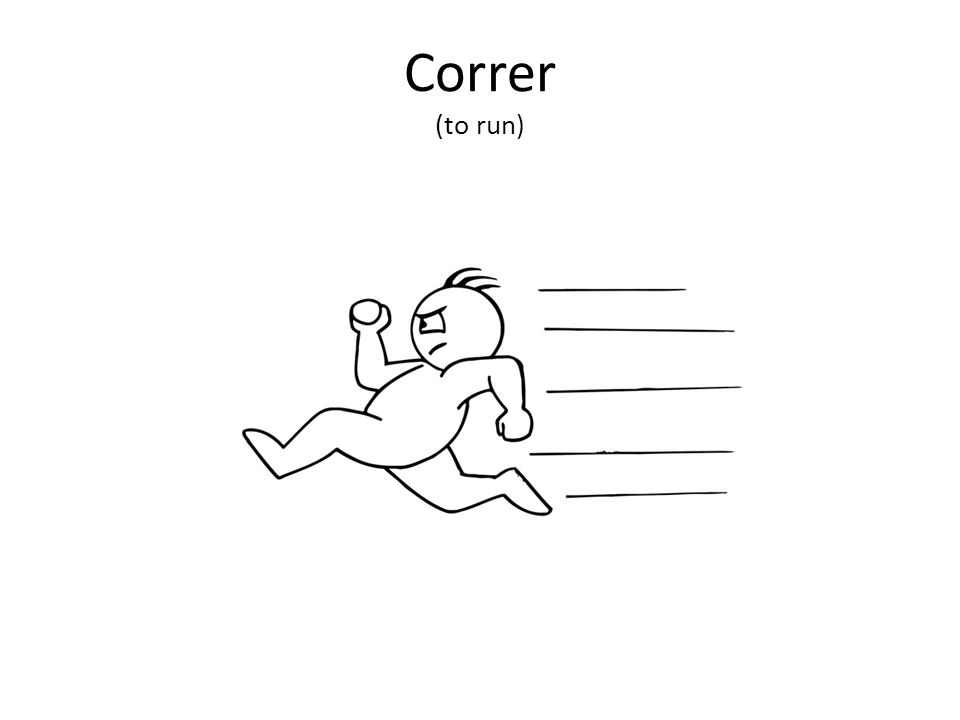 Correr (to run)