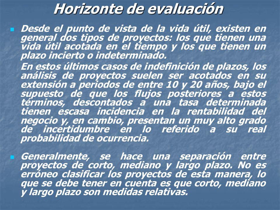 CONSTRUCCION DEL FLUJO DE FONDOS En la mayoría de los casos existe un amplio margen de libertad para el cómputo de los datos que se utilizan en la ela