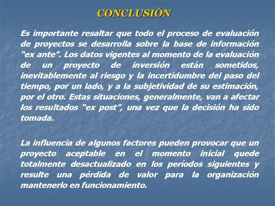 En la práctica el análisis de Sensitividad se realiza de la siguiente manera: 1). Se elige una variable del flujo de fondos a la cual se le aplican di