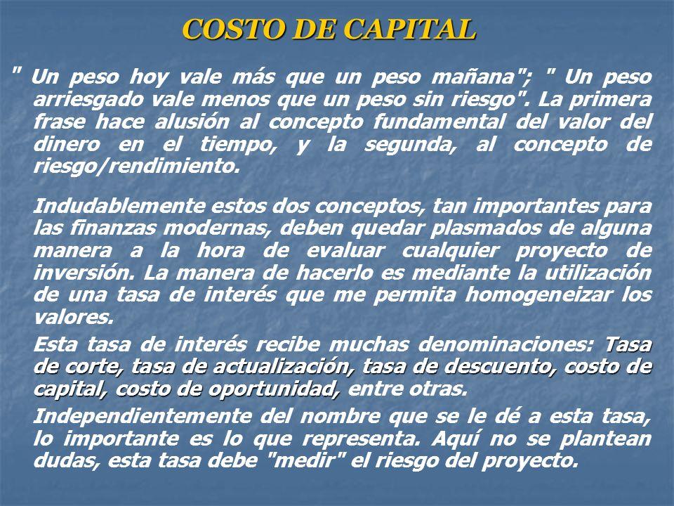 Clasificación de los proyectos de inversión: Independientes: Independientes: Dos proyectos de inversión son, independientes cuando la realización de u