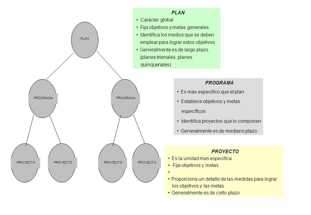 Planificación de detalle de recursos ACTIVIDADES