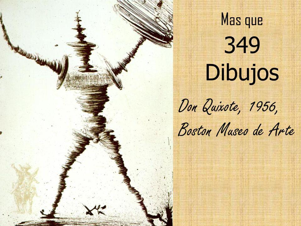 Mas que 349 Dibujos Don Quixote, 1956, Boston Museo de Arte