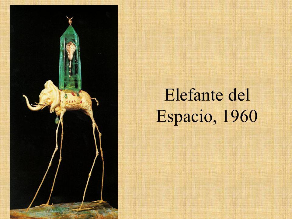 Elefante del Espacio, 1960