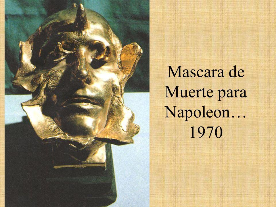 Mascara de Muerte para Napoleon… 1970