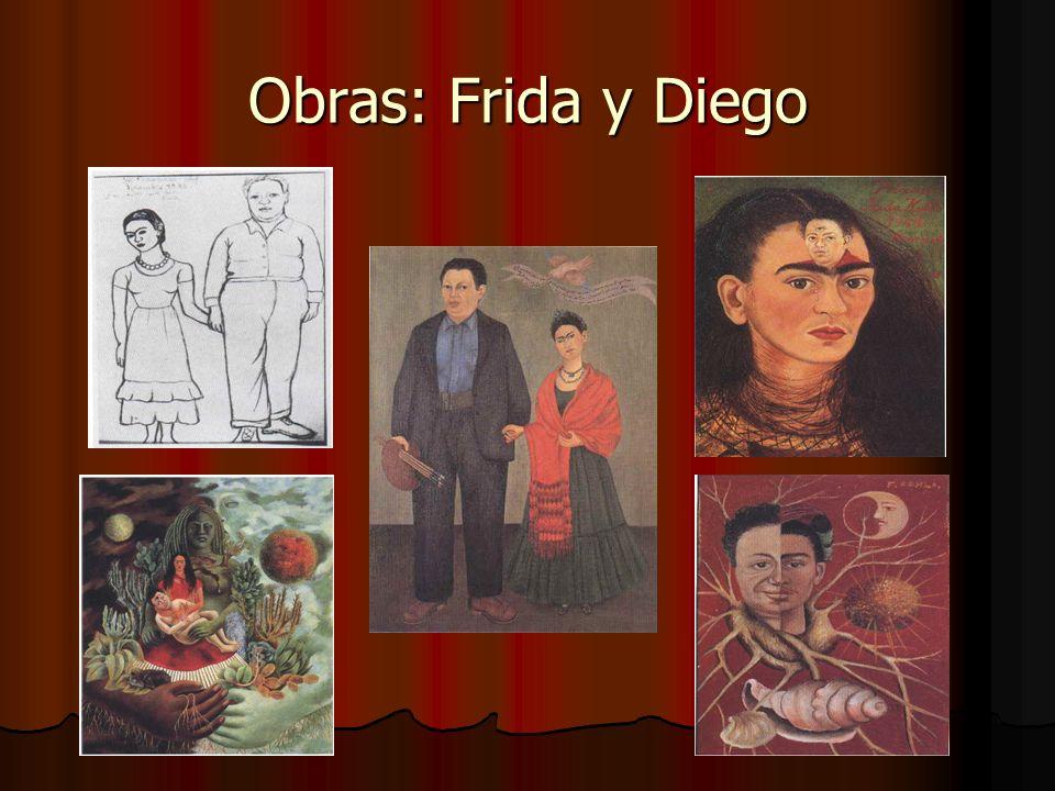Obras: Frida y Diego