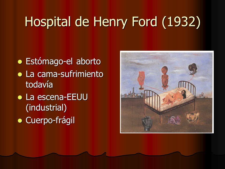 Hospital de Henry Ford (1932) Estómago-el aborto Estómago-el aborto La cama-sufrimiento todavía La cama-sufrimiento todavía La escena-EEUU (industrial) La escena-EEUU (industrial) Cuerpo-frágil Cuerpo-frágil