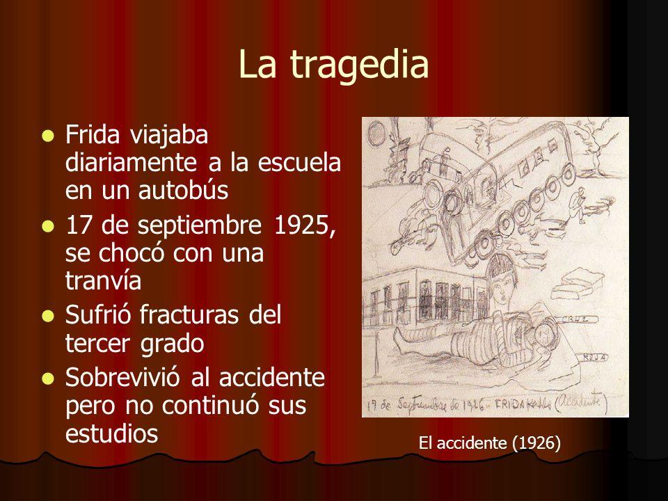 Vida con Diego Rivera Tina Modotti (una buena amiga de Frida) les introdujo Se casó con Diego Rivera (un pintor famoso de murales) el 21 de agosto de 1929 El influyó en sus características definitivas
