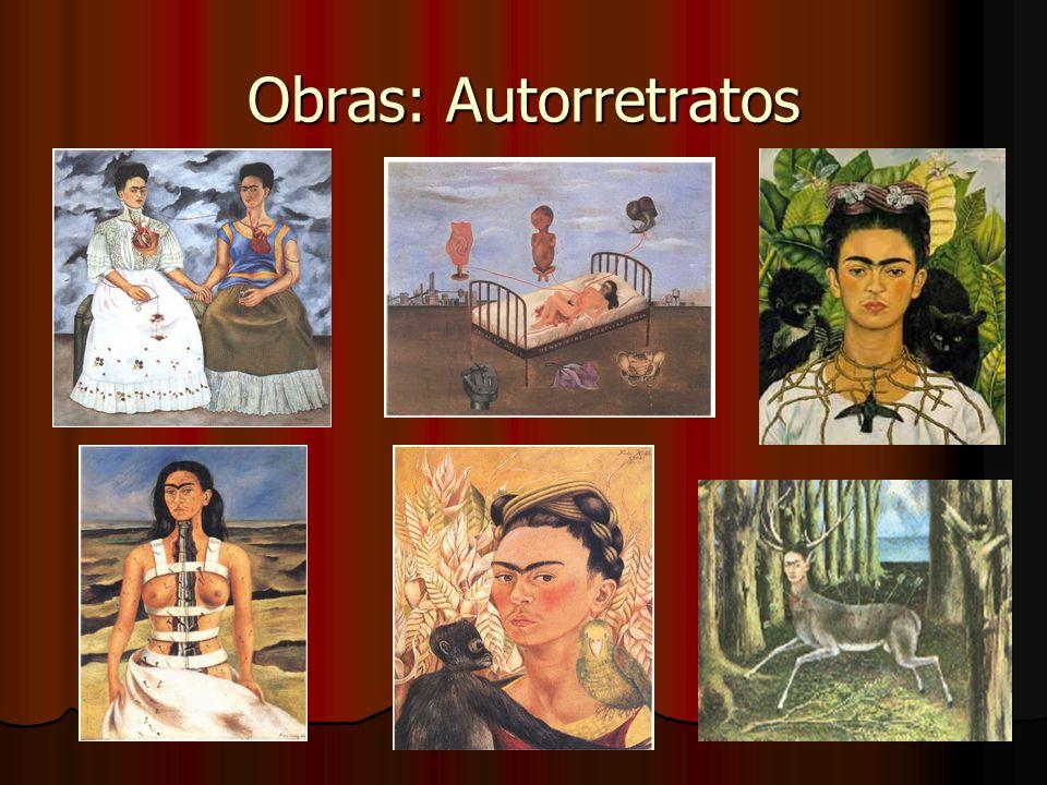 Obras: Autorretratos