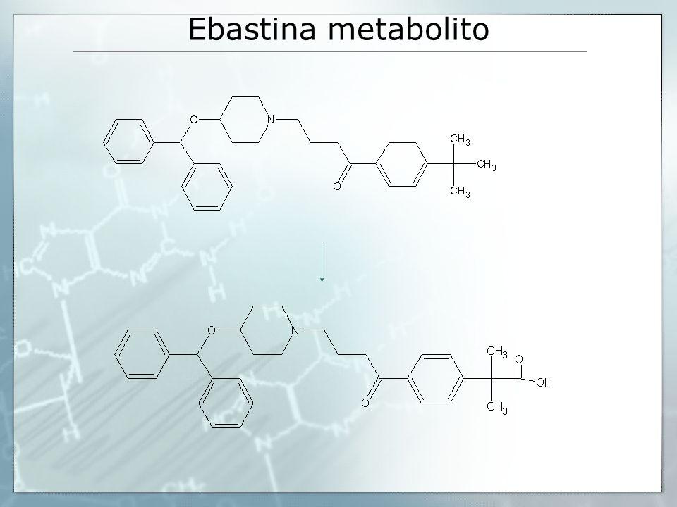 Ebastina metabolito