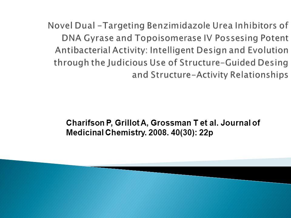 La modificaciones estructurales mediante diseño estructural guiado y SAR, pueden llevar a una optimización de las benzimidazol urea como agentes antibacterianos con una mayor potencia.