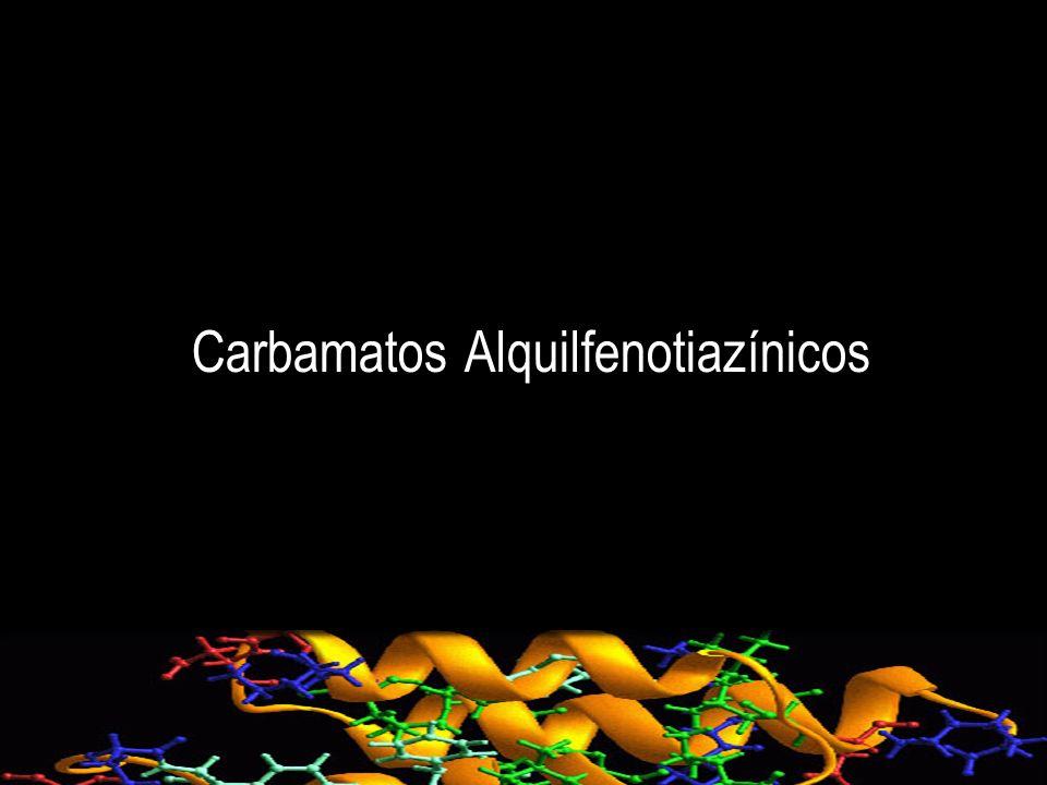 Carbamatos Alquilfenotiazínicos