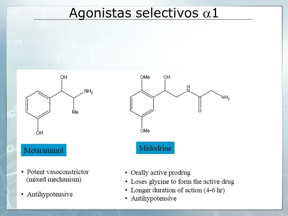 Agonistas selectivos 1
