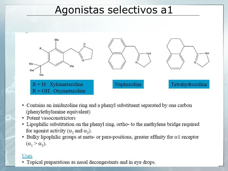 Agonistas selectivos a1