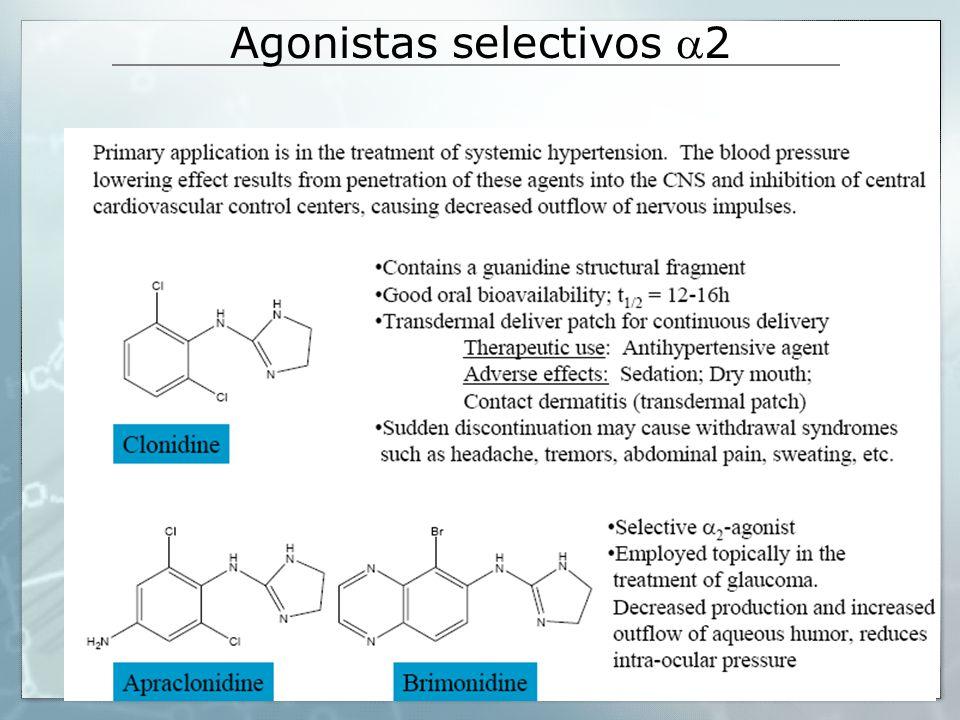 Agonistas selectivos 2