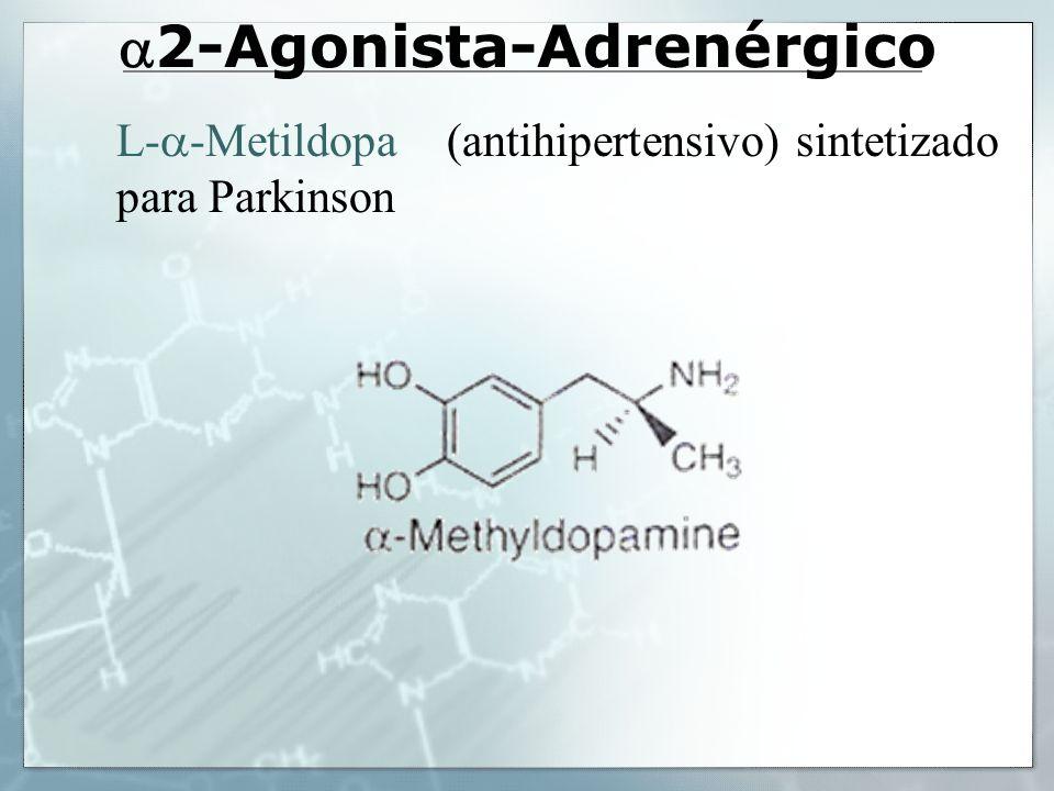 2-Agonista-Adrenérgico L- -Metildopa (antihipertensivo) sintetizado para Parkinson