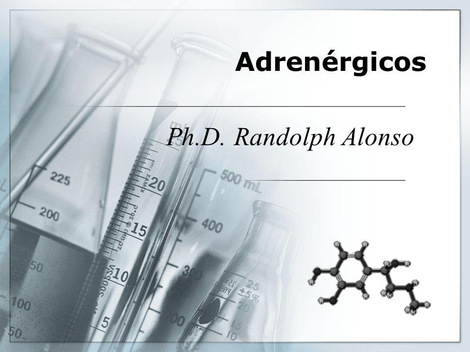 Adrenérgicos Ph.D. Randolph Alonso