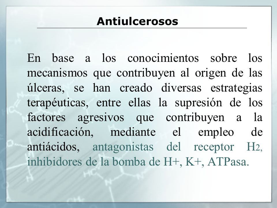 El omeprazol y el lanzoprazol deben considerarse profarmacos. Inhibidores de la bomba de protones