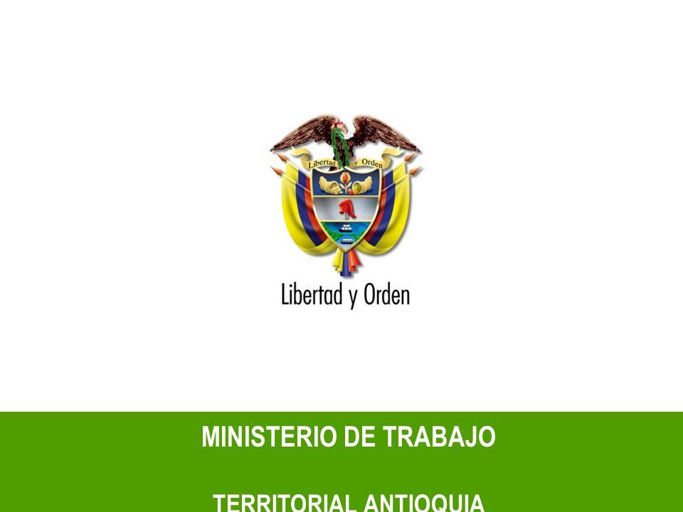 MINISTERIO DE TRABAJO TERRITORIAL ANTIOQUIA