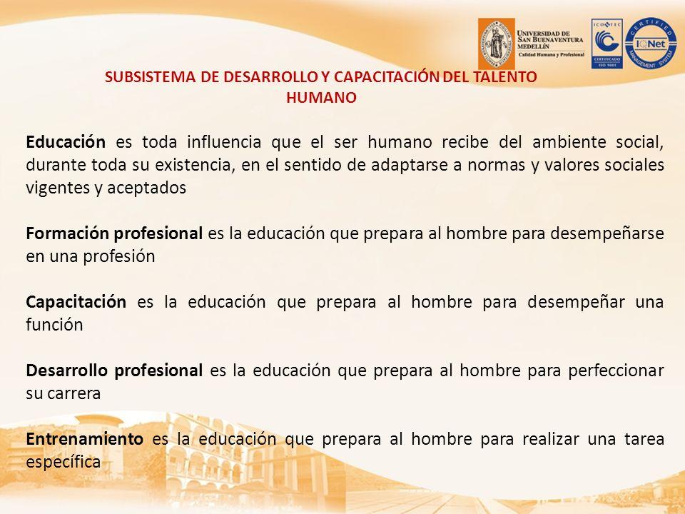 Educación es toda influencia que el ser humano recibe del ambiente social, durante toda su existencia, en el sentido de adaptarse a normas y valores s