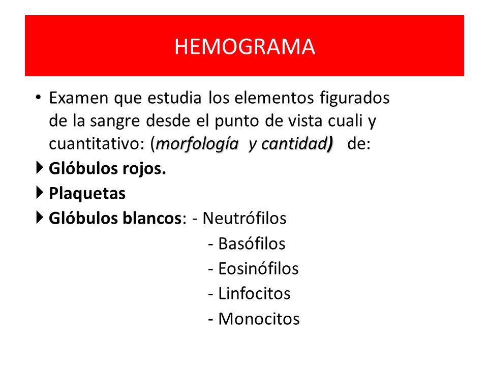 ANEMIA Hb VCM HCM NORMAL Pseudoanemia ANEMIA MICROCITICA HIPOCROMA Fe CTFF Ferritina ANEMIA NORMOCITICA NORMOCROMA Ex.