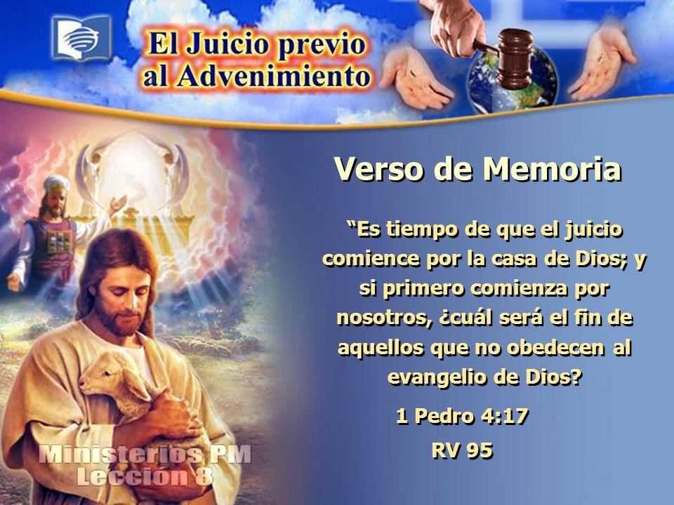 El Hijo del Hombre y el Juicio Previo al Advenimiento Pregunta nº 6 ¿Cuál es ese elemento en común, en Daniel 7:18, 22 y 2.