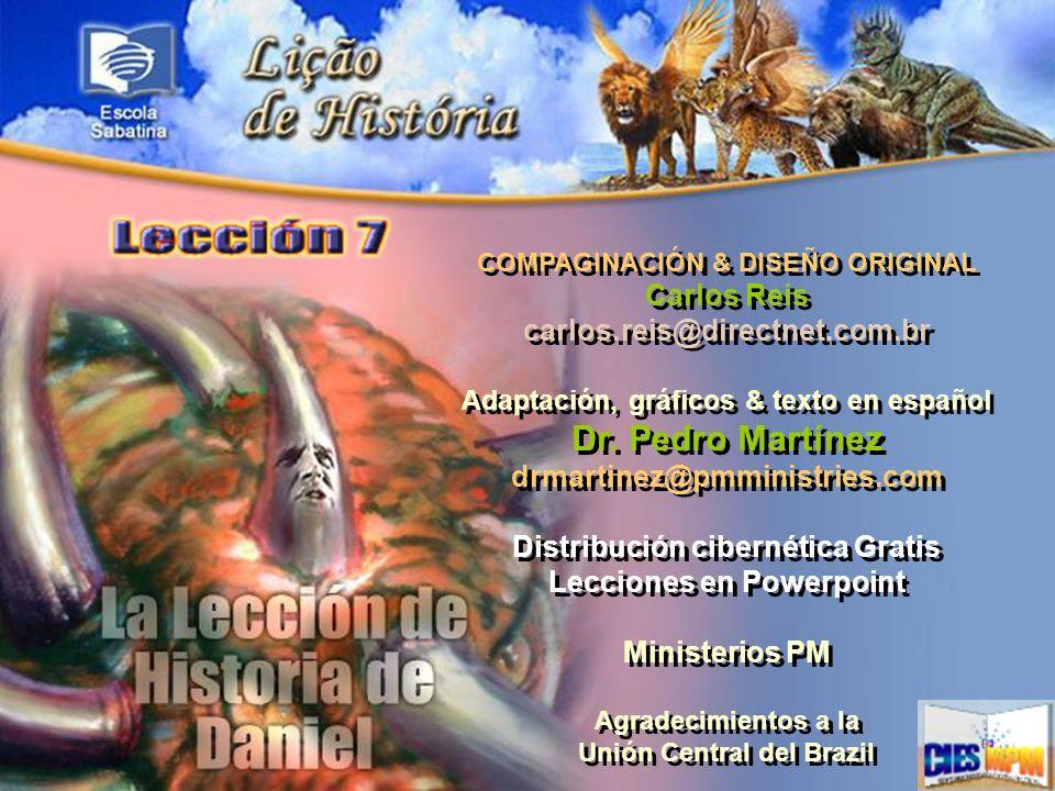 COMPAGINACIÓN & DISEÑO ORIGINAL Carlos Reis carlos.reis@directnet.com.br Adaptación, gráficos & texto en español Dr. Pedro Martínez drmartinez@pmminis