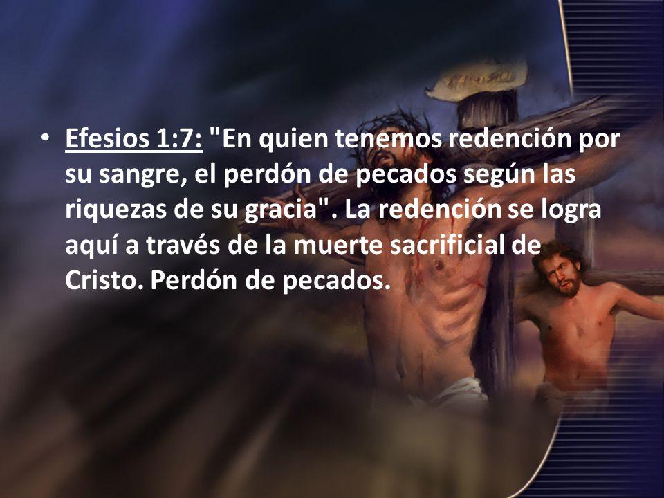 Efesios 1:7: