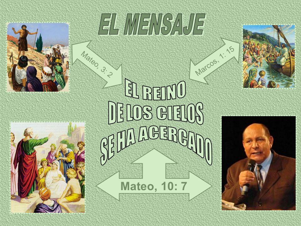 Ahora, justamente antes de la venida de Cristo en las nubes del cielo, ha de efectuarse una obra como la que realizó Juan el Bautista.
