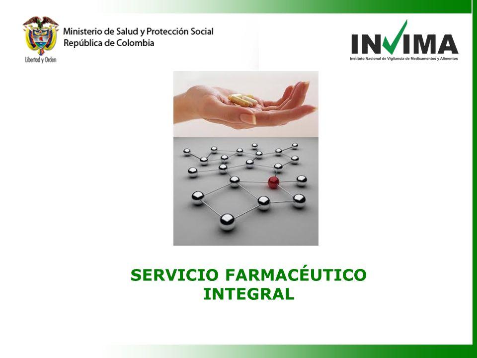 SERVICIO FARMACÉUTICO INTEGRAL