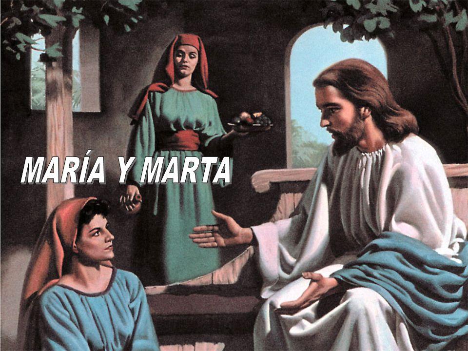 Marta, Marta, _______ y turbada estás con muchas cosas, pero solo una cosa es __________; y María ha escogido la buena parte, la cual no le será _______ (Lucas, 10: 41-42) afanada 1.Marta quería que María ayudara para poder escuchar ella a Jesús.