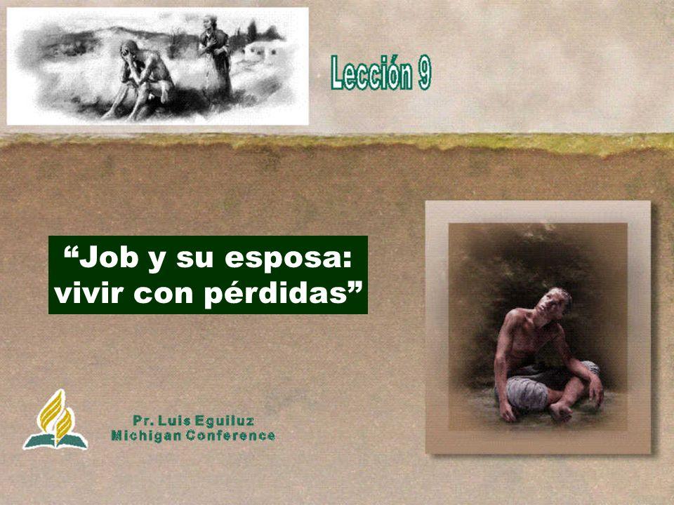 Job y su esposa: vivir con pérdidas