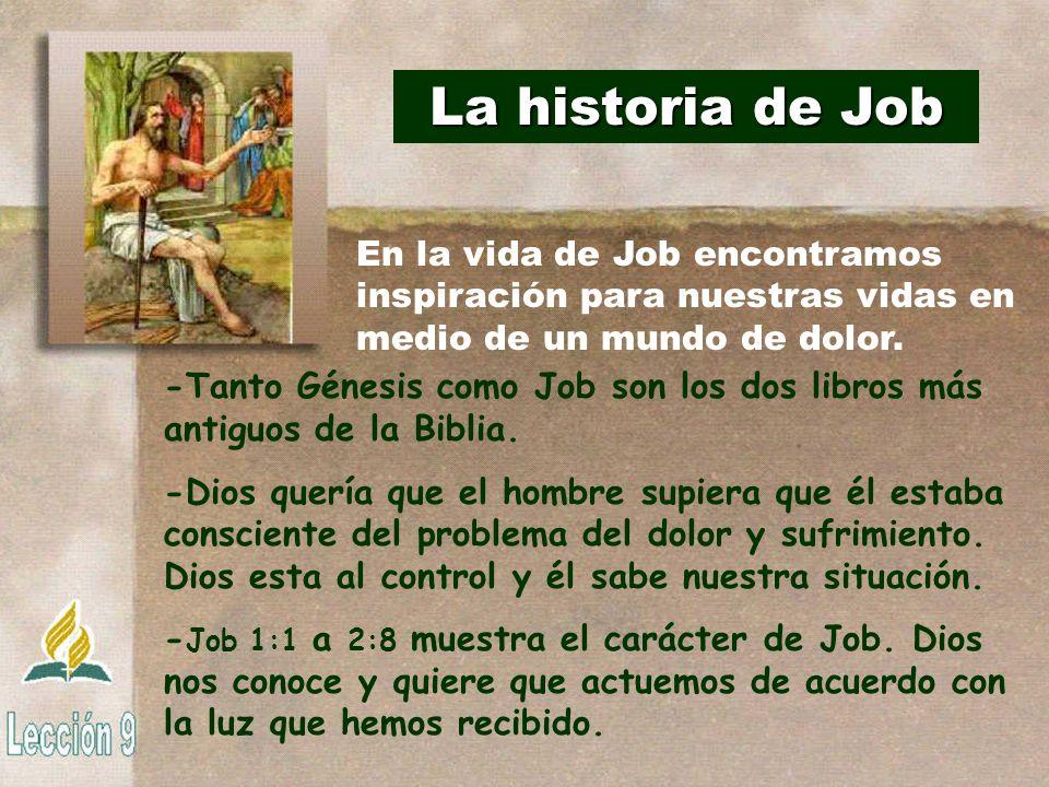 Las tentadoras de Satanás -Adán y Job tienen varias semejanzas (Gén.