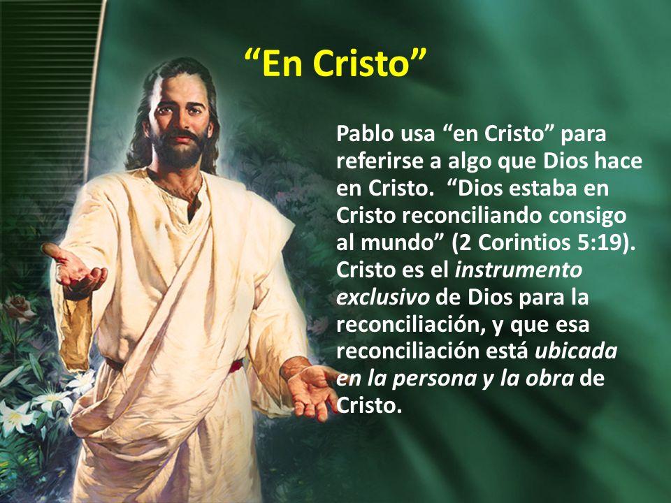 Los beneficios 1.la gracia (Efesios 1:2) 2.vida eterna (Romanos 6:23) 3.una vida santa (Filipenses 3:14) 4.la elección (Efesios 1:4) 5.la redención (Colosenses 1:14) 6.la justificación (Gálatas 2:17) 7.el perdón (Efesios 4:32) 8.la santificación (1 Corintios 1:2).