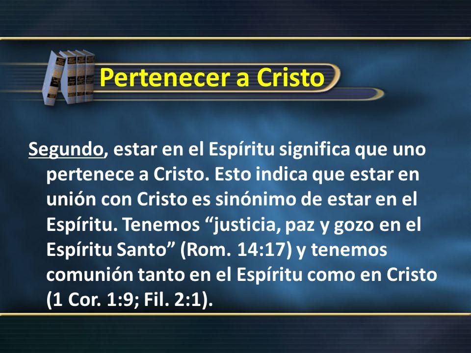 Unidos a la Iglesia La unión con Cristo mediante el bautismo no puede separarse de la unión con el cuerpo de Cristo, la iglesia (1 Cor.