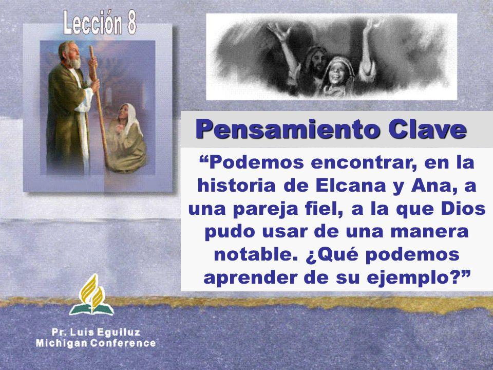 Podemos encontrar, en la historia de Elcana y Ana, a una pareja fiel, a la que Dios pudo usar de una manera notable. ¿Qué podemos aprender de su ejemp