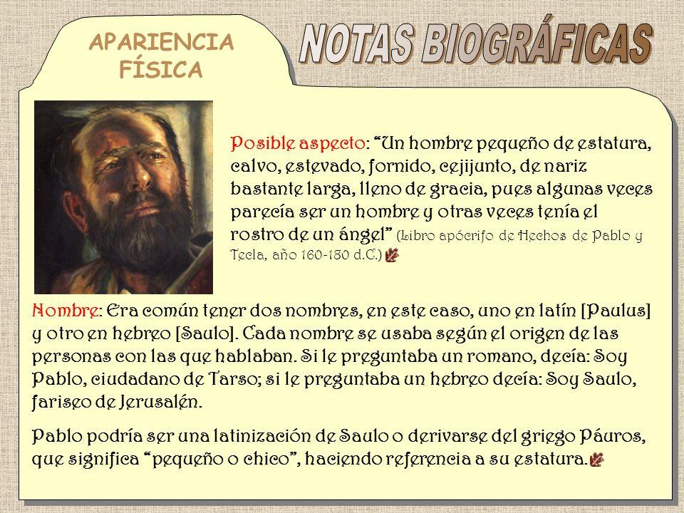 Privilegios civiles: Tenía derechos civiles como ciudadano de Tarso, el mayor de ellos era la ciudadanía romana (Hechos, 22: 27-28).