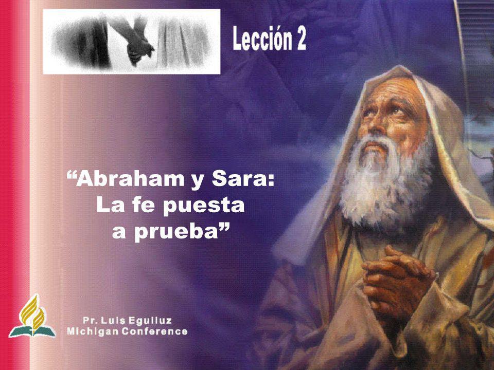 Por la fe Abraham, a pesar de su avanzada edad y de que Sara misma era estéril, recibió fuerza para te- ner hijos, porque con- sideró fiel al que le ha- bía hecho la promesa (Heb.