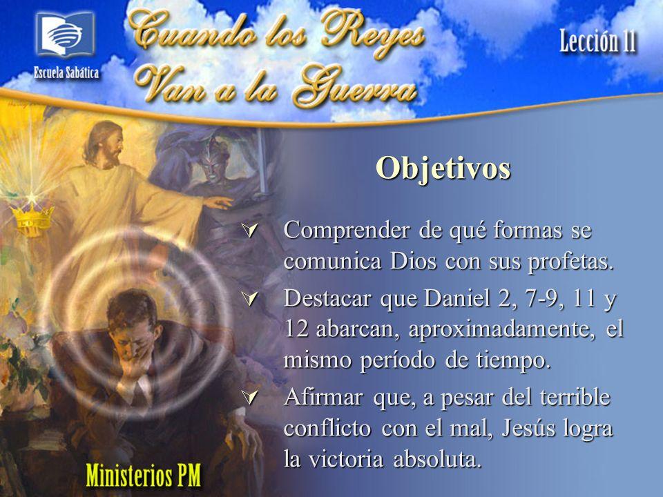 Bosquejo I.El profeta en visión (Dan.10:4- 13).