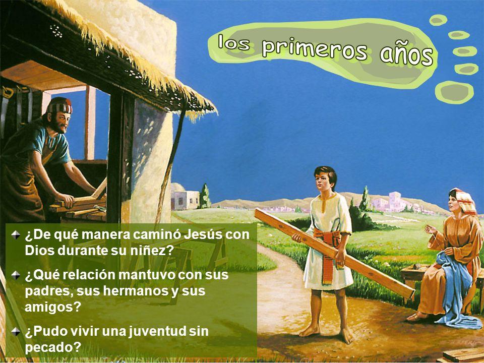El ejemplo de Jesús es una luz para los jóvenes, tanto como para los de edad madura, pues fue un representante de la niñez y la juventud.