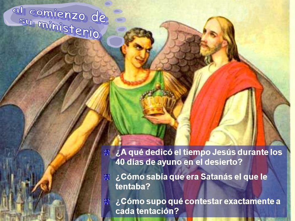 Cuando Jesús fue llevado al desierto para ser tentado, fue llevado por el Espíritu de Dios.
