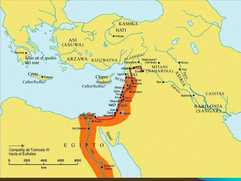 Sesostris III (Senwosret III; 1878-1843 aC), XII din Es puesto por su padre como corregente en 1882 (el último año de abundancia) Talvez para asegurar la estabilidad política en un contexto difícil Continúa el trabajo de reclamación de tierras Destruye el poder de la nobleza, la casa real nuevamente es dueña de las tierras egipcias (Gén.47:20)
