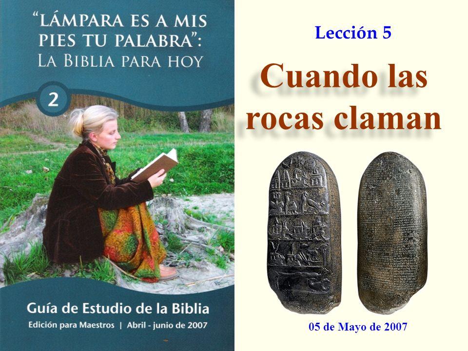 1. Introducción 2. ¿Qué dice la Arqueología? 3. Arqueología y Profecías 4. Conclusiones