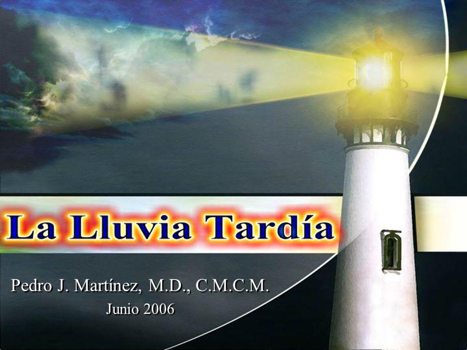 Pedro J. Martínez, M.D., C.M.C.M. Junio 2006 Pedro J. Martínez, M.D., C.M.C.M. Junio 2006