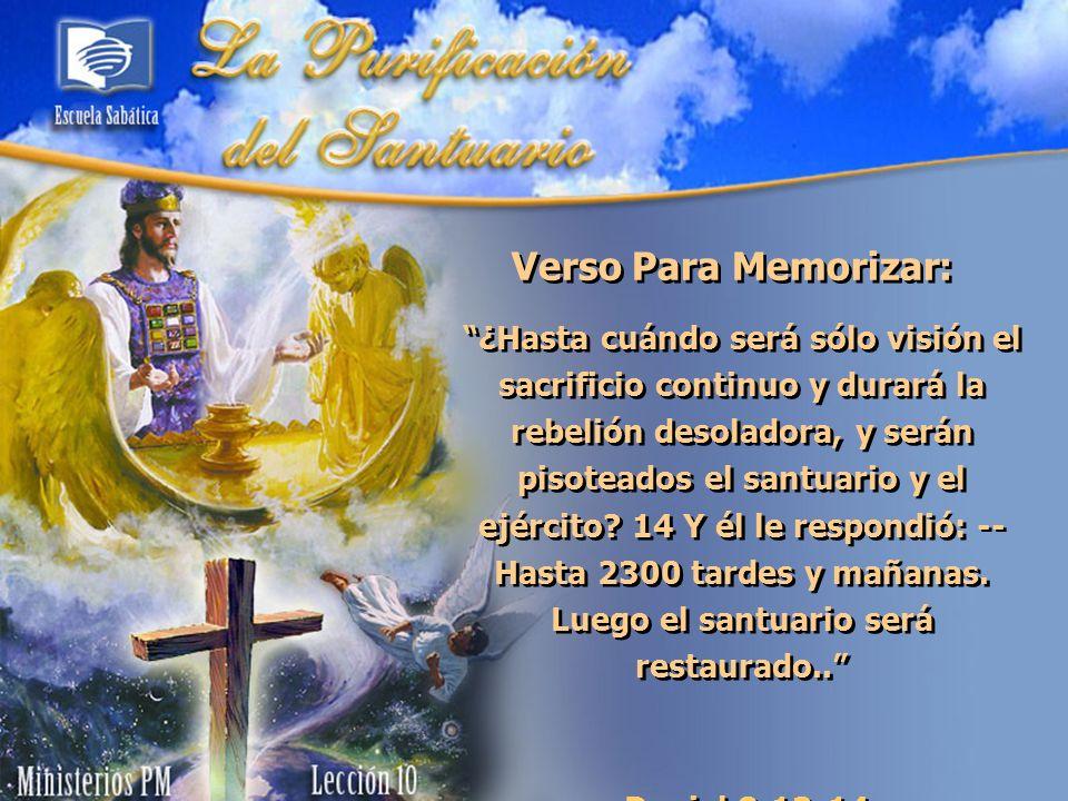 I.El tabernáculo del Antiguo Testamento (Lev.