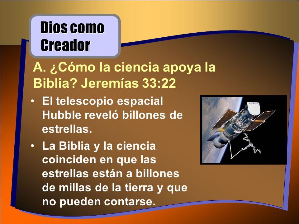 El telescopio espacial Hubble reveló billones de estrellas. La Biblia y la ciencia coinciden en que las estrellas están a billones de millas de la tie